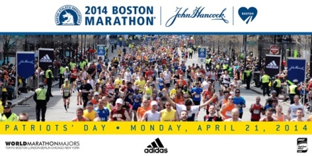 Boston Marathon 2014!